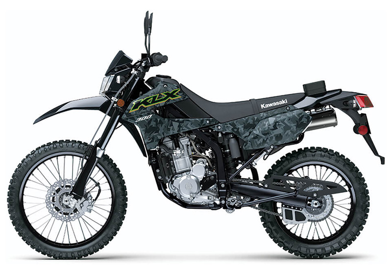 2021 Kawasaki KLX 300 in Everett, Pennsylvania - Photo 2