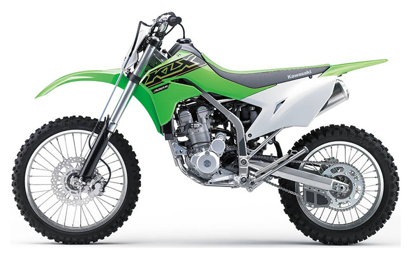 2021 Kawasaki KLX 300R in Woodstock, Illinois - Photo 2
