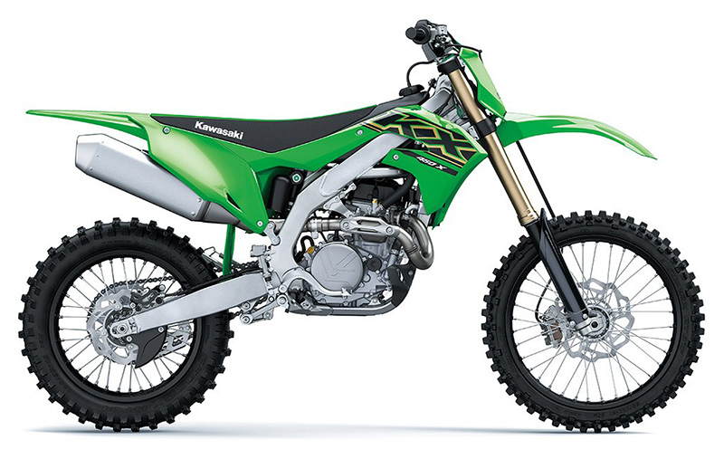 2021 Kawasaki KX 450X in West Burlington, Iowa - Photo 1