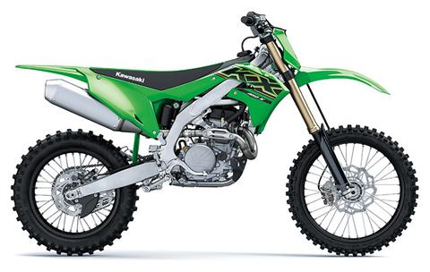 2021 Kawasaki KX 450X in Woodstock, Illinois