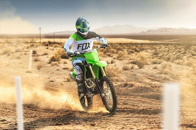 2021 Kawasaki KX 450X in Ukiah, California - Photo 4