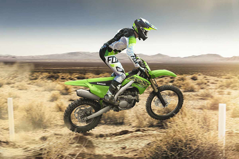 2021 Kawasaki KX 450X in Woodstock, Illinois - Photo 6