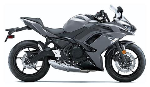 2021 Kawasaki Ninja 650 in Plymouth, Massachusetts