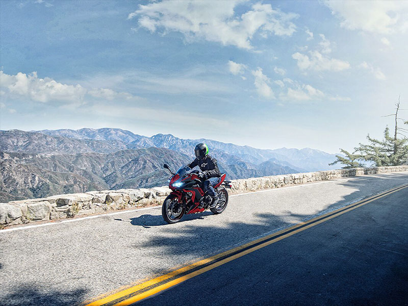 2021 Kawasaki Ninja 650 in Corona, California - Photo 2