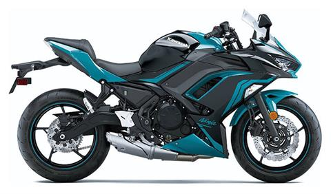 2021 Kawasaki Ninja 650 ABS in Freeport, Illinois
