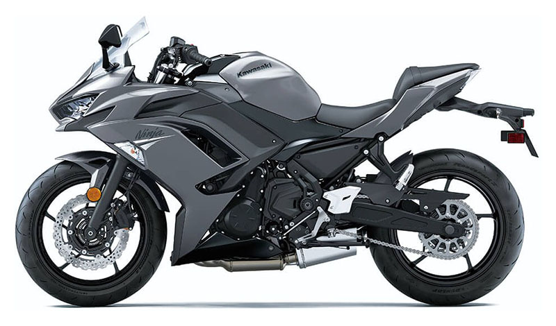 2021 Kawasaki Ninja 650 ABS in Canton, Ohio
