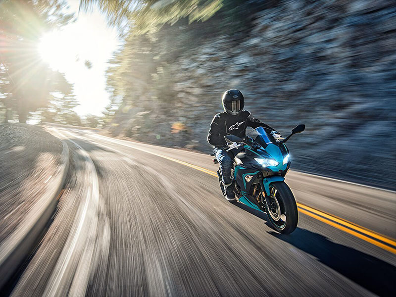 2021 Kawasaki Ninja 650 ABS in Corona, California