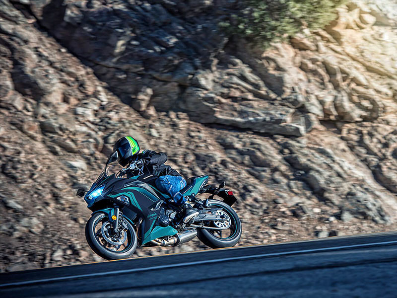2021 Kawasaki Ninja 650 ABS in Erda, Utah - Photo 12