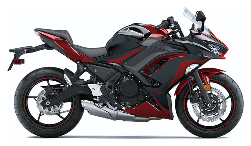 2021 Kawasaki Ninja 650 ABS in Mount Pleasant, Michigan - Photo 1
