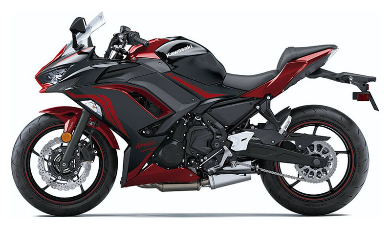 2021 Kawasaki Ninja 650 ABS in Mount Pleasant, Michigan - Photo 2