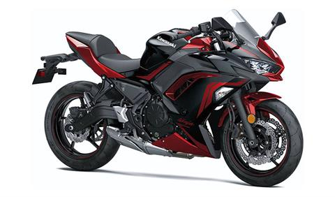 2021 Kawasaki Ninja 650 ABS in Mount Pleasant, Michigan - Photo 3