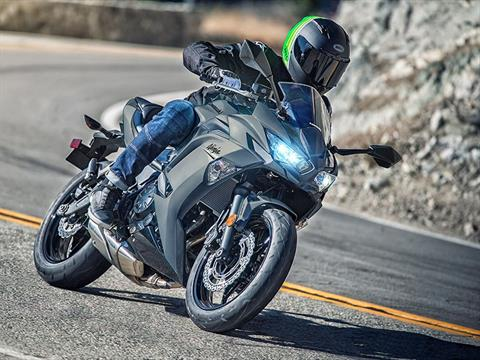 2021 Kawasaki Ninja 650 ABS in Oklahoma City, Oklahoma - Photo 9