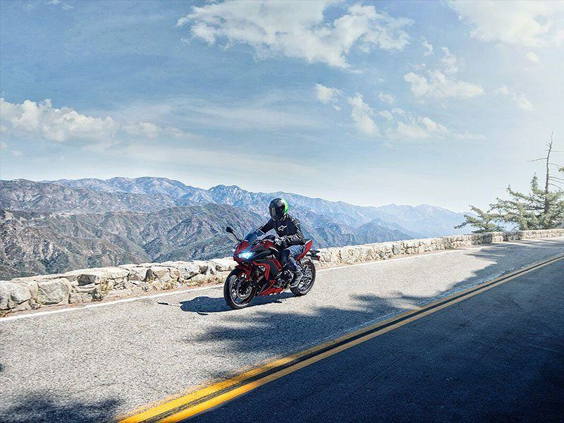 2021 Kawasaki Ninja 650 ABS in Vallejo, California - Photo 4