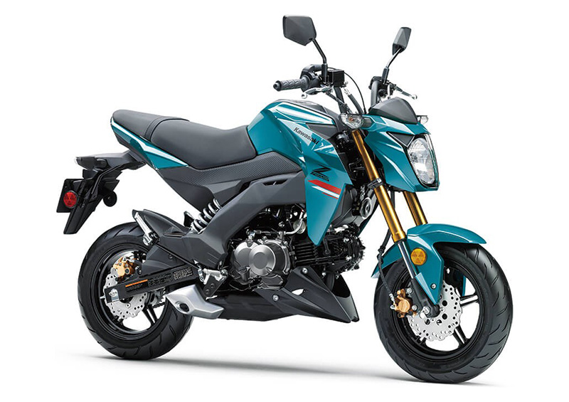 2021 Kawasaki Z125 Pro in Stuart, Florida - Photo 3
