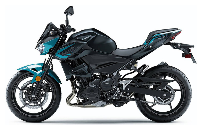 2021 Kawasaki Z400 ABS in Bellingham, Washington - Photo 2