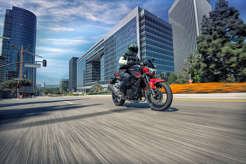 2021 Kawasaki Z400 ABS in Mount Pleasant, Michigan - Photo 8