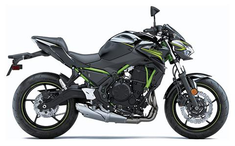 2020 Kawasaki Z650 ABS in Junction City, Kansas