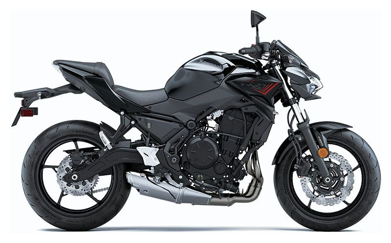 2020 Kawasaki Z650 ABS in Clearwater, Florida