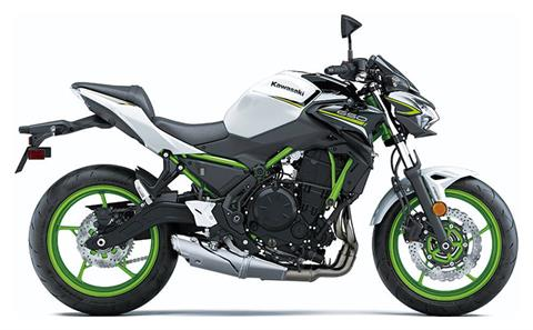 2021 Kawasaki Z650 ABS in Belvidere, Illinois