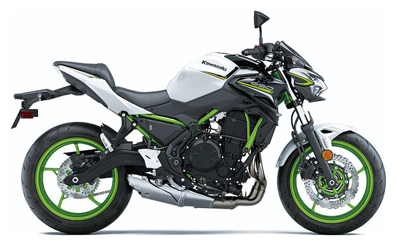 2021 Kawasaki Z650 ABS in Eureka, California - Photo 1