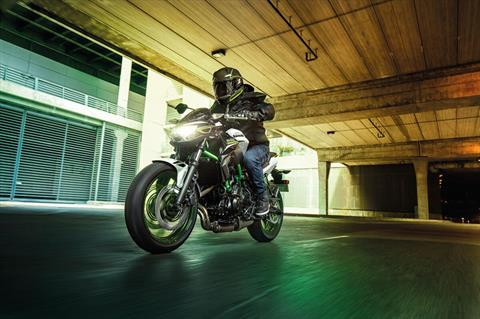 2021 Kawasaki Z650 ABS in Kingsport, Tennessee - Photo 5