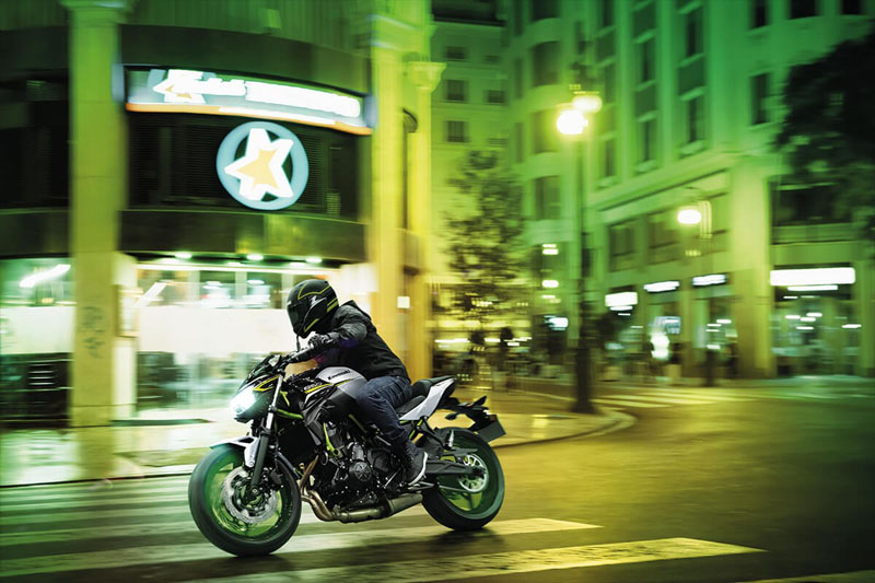 2021 Kawasaki Z650 ABS in Kingsport, Tennessee - Photo 8