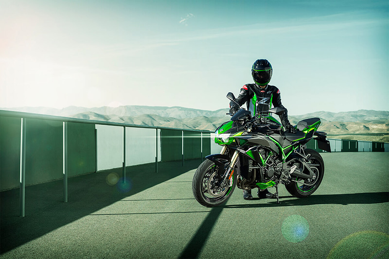 2021 Kawasaki Z H2 SE in North Reading, Massachusetts - Photo 4