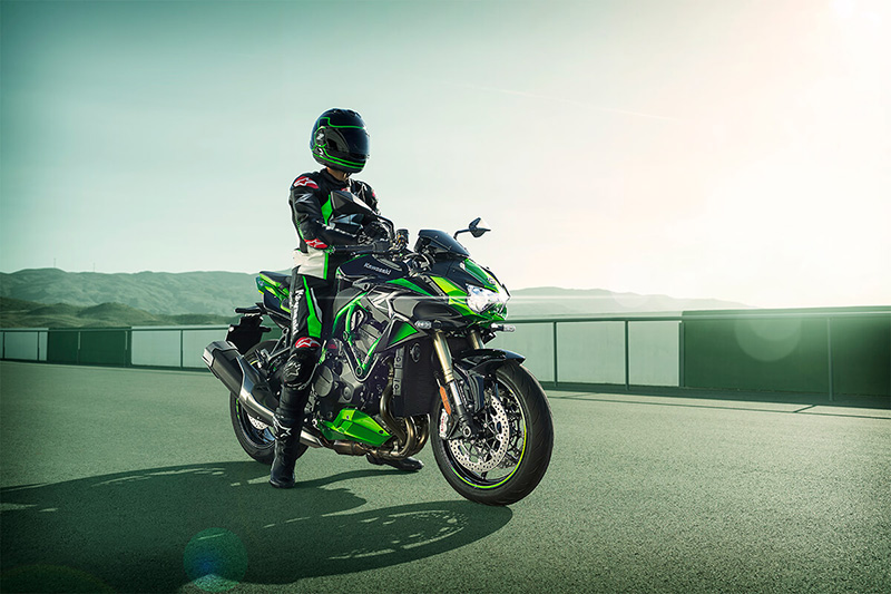 2021 Kawasaki Z H2 SE in North Reading, Massachusetts - Photo 5