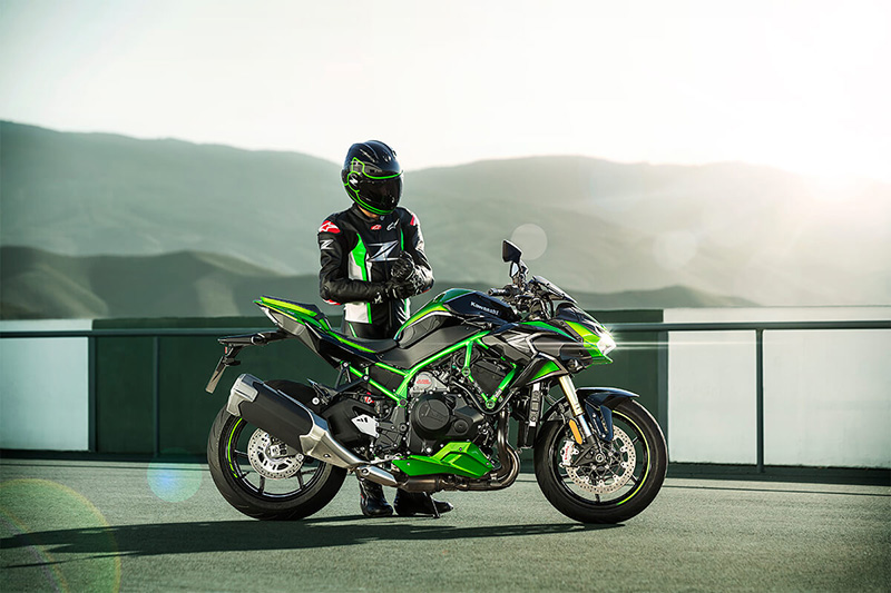 2021 Kawasaki Z H2 SE in South Paris, Maine - Photo 6