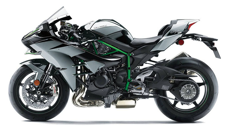 2021 Kawasaki Ninja H2 in Plymouth, Massachusetts - Photo 2