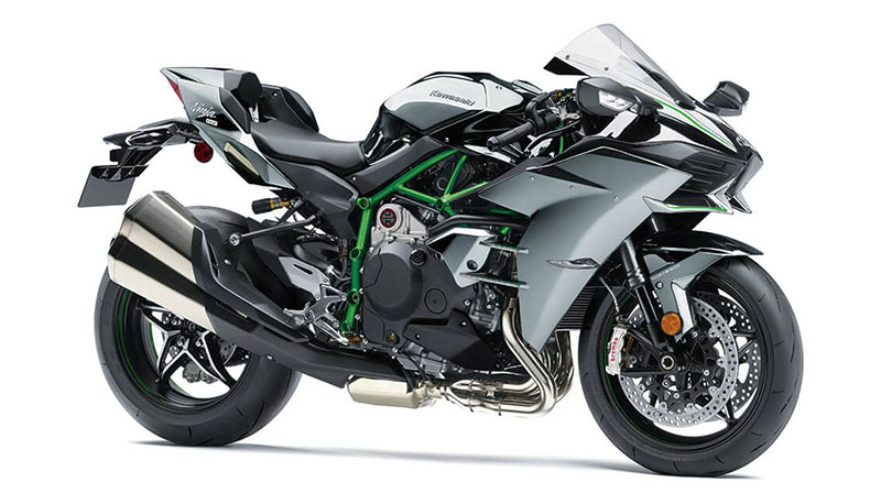 2021 Kawasaki Ninja H2 in Plymouth, Massachusetts - Photo 3