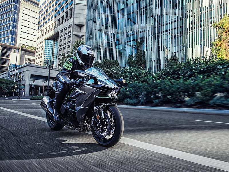 2021 Kawasaki Ninja H2 in Plymouth, Massachusetts - Photo 4