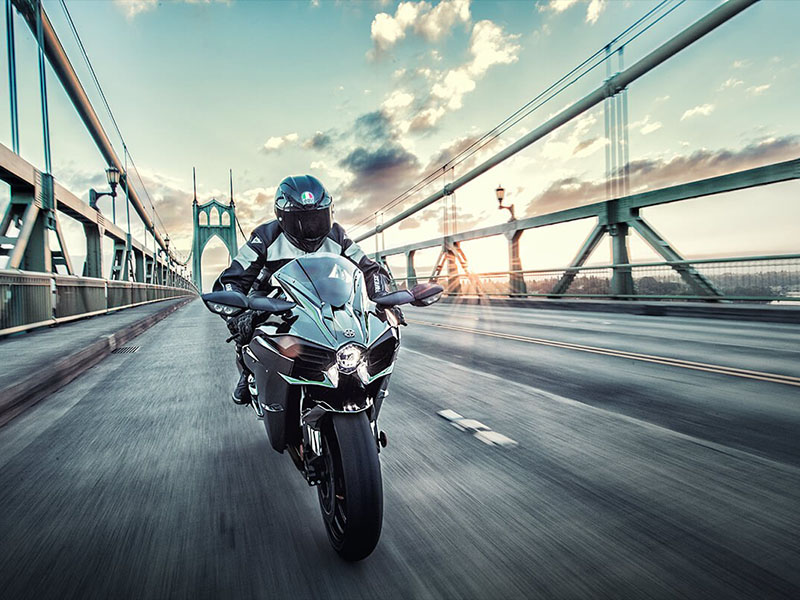2021 Kawasaki Ninja H2 in North Reading, Massachusetts - Photo 5