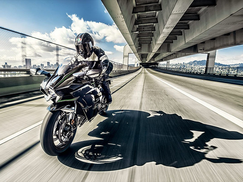 2021 Kawasaki Ninja H2 in Plymouth, Massachusetts - Photo 6