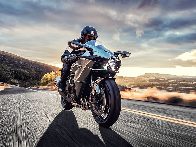 2021 Kawasaki Ninja H2 in Everett, Pennsylvania - Photo 8