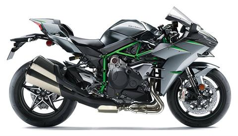 2021 Kawasaki Ninja H2 Carbon in Dimondale, Michigan