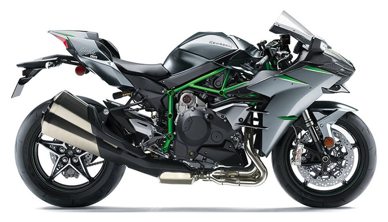 2021 Kawasaki Ninja H2 Carbon in Cambridge, Ohio - Photo 1