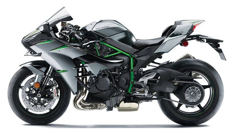 2021 Kawasaki Ninja H2 Carbon in Herrin, Illinois - Photo 2