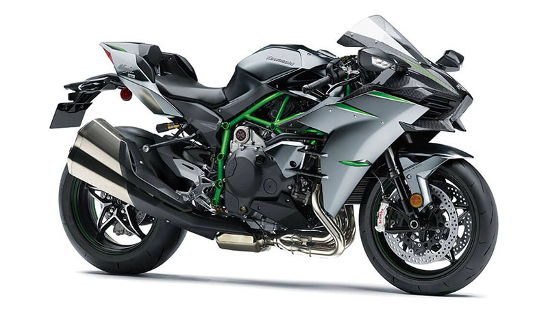 2021 Kawasaki Ninja H2 Carbon in Woodstock, Illinois - Photo 3