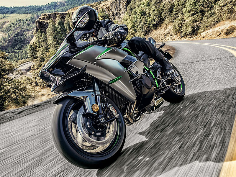 2021 Kawasaki Ninja H2 Carbon in Woodstock, Illinois - Photo 4