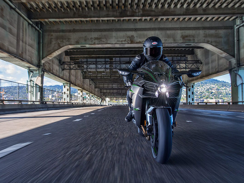 2021 Kawasaki Ninja H2 Carbon in Waterbury, Connecticut - Photo 5