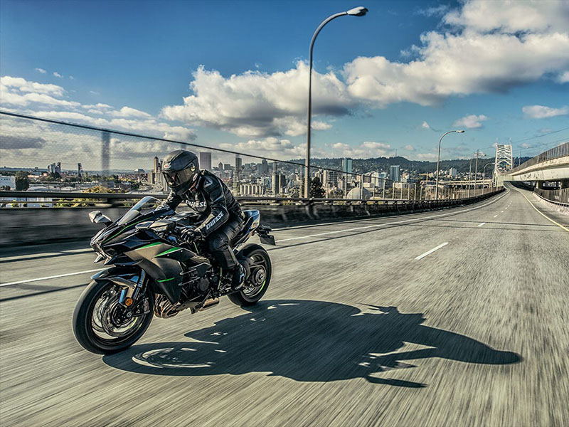 2021 Kawasaki Ninja H2 Carbon in Woodstock, Illinois - Photo 6