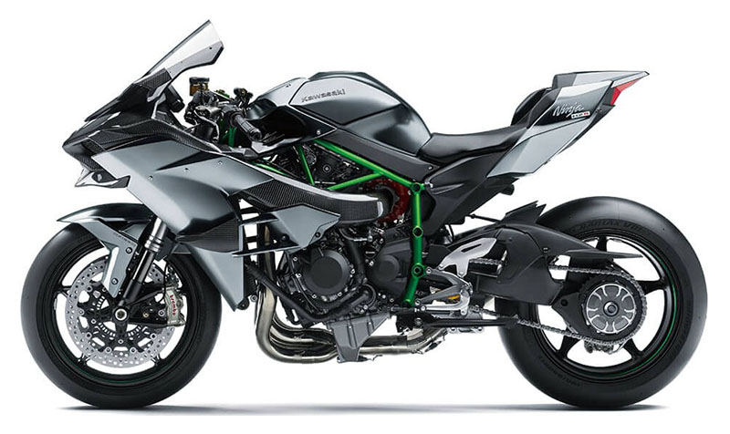 2021 Kawasaki Ninja H2 R in Woodstock, Illinois - Photo 2
