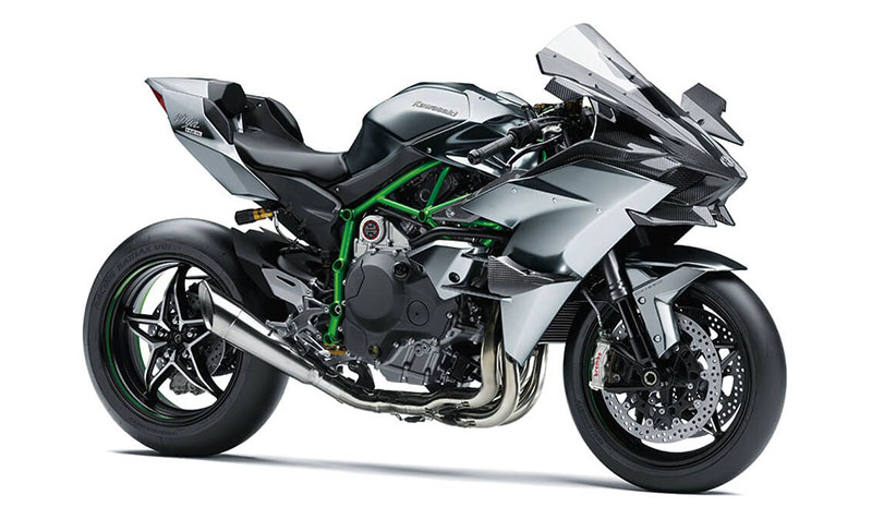 2021 Kawasaki Ninja H2 R in Woodstock, Illinois - Photo 3