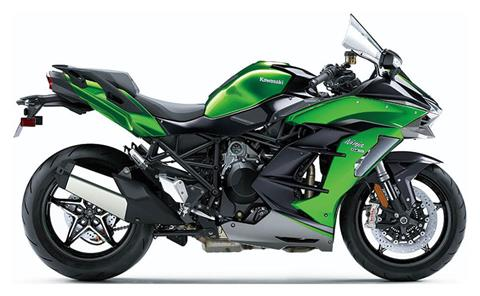 2021 Kawasaki Ninja H2 SX SE+ in Freeport, Illinois