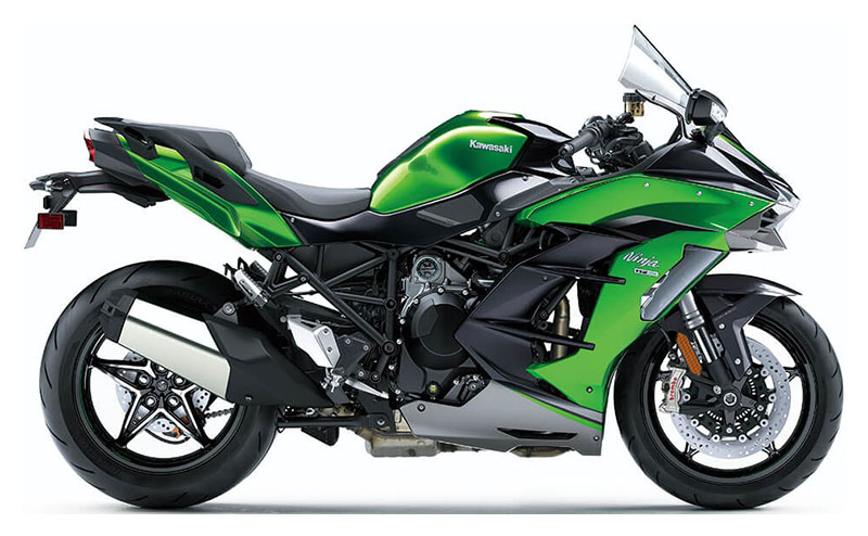 2021 Kawasaki Ninja H2 SX SE+ in O Fallon, Illinois - Photo 1