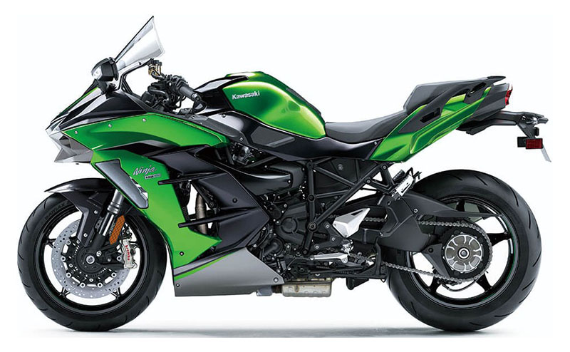 2021 Kawasaki Ninja H2 SX SE+ in O Fallon, Illinois - Photo 2