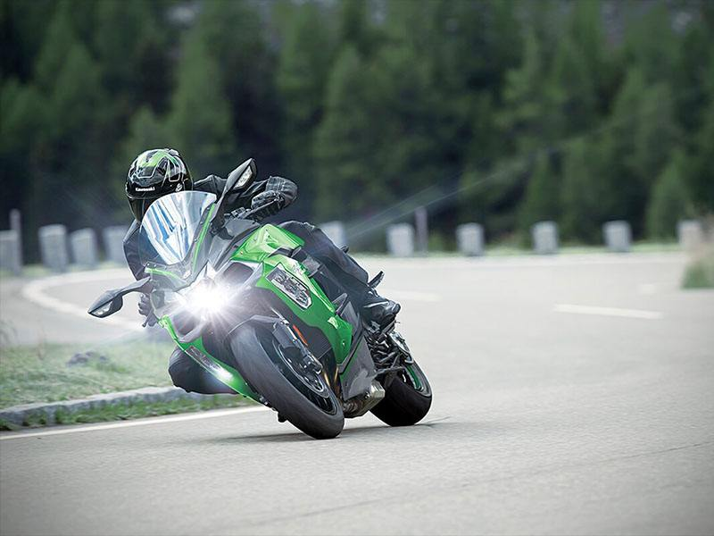 2021 Kawasaki Ninja H2 SX SE+ in O Fallon, Illinois - Photo 4