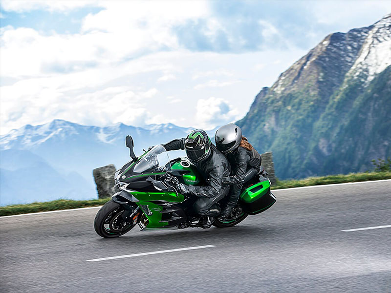 2021 Kawasaki Ninja H2 SX SE+ in Gonzales, Louisiana - Photo 6
