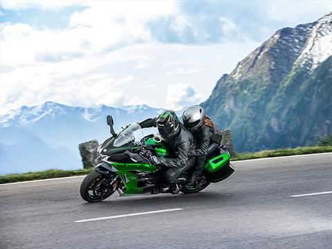 2021 Kawasaki Ninja H2 SX SE+ in O Fallon, Illinois - Photo 6